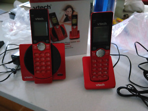 Pair of Vtech phones