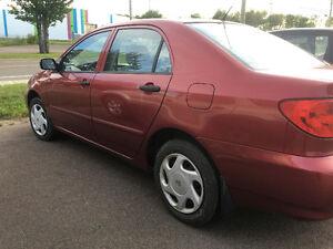 2004 Toyota Corolla **New MVI**