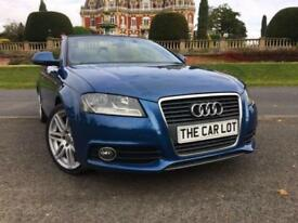 Audi A3 Cabriolet 2.0TDI 2009MY S Line only 78k fsh DRIVES WELL