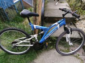 Men's pro motive full suspension bike