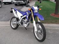 2015  WR250R  BRAND NEW  ONLY 260 KMS