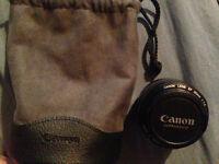Canon Ultrasonic Lens EF 1.4 50mm