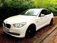 **MASSIVE SPEC** 2010 BMW 530D GT GRAN TOURISMO 3.0 SE AUTOMATIC AUTO WHITE