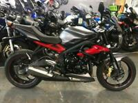 2016 66 TRIUMPH STREET TRIPLE R ABS *2 OWNERS, FDSH, LOW MILEAGE, NICE EXTRAS*