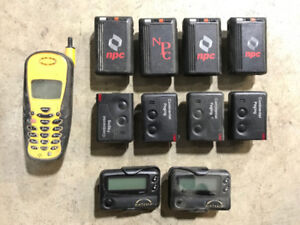 Pager and cell phone