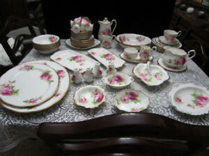 """Royal Albert """"AMERICAN BEAUTY"""" China BLOW OUT SALE!"""