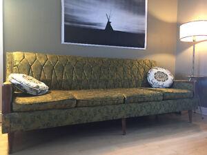 Vintage sofa & armchair