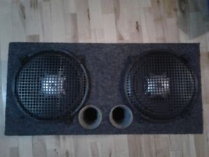 "Subwoofer 2 X 12 "" Jbl avec amplificateur Soundstorm"