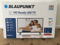 Brand New Blaupunkt 32/136i 32 Inch HD Ready 720p LED TV with Freeview