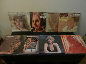 Vinyl Records/LP's Country Tammy Wynette Lot of 8