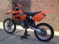 Ktm sx 125 mx bike not kx cr yz rm 250 450