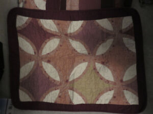 Quilt and pillow shams