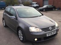V.W GOLF GT TDI 48K MILES 5DR,HPI CLEAR,1 OWNER,CAMBELT CHANGED AT 36K ,2 KEYS
