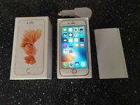 Apple iPhone 6s 64gb rose gold unlocked to all networks