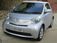 Toyota iQ 1.0 VVT-i 2 Previous Keepers ZERO ROAD TAX. ONLY 72,107 Miles FSH ! !