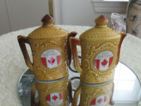PAIR of COLLECTOR'S CAPE BRETON SALT AND PEPPER SHAKERS