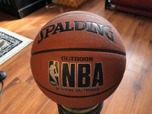 Spalding NBA Junior Outdoor basketball, as new