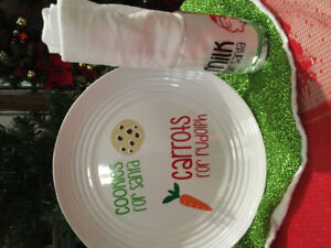 Cookies and Milk for Santa sets