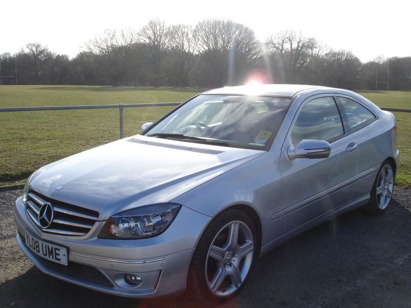 mercedes cl clc 220 cdi sport in mistley essex gumtree. Black Bedroom Furniture Sets. Home Design Ideas