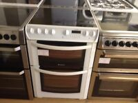 Hotpoint electric cooker (double oven)