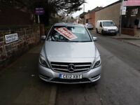 Mercedes B Class B180 CDI BlueEFFICIENCY Sport 7G DCT (silver) 2012