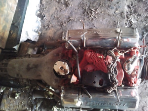 350 Engine and tranny for sale