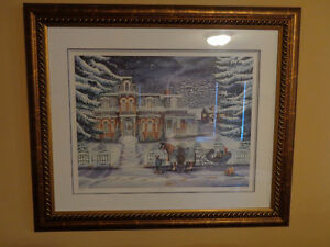 "Janice Tanton ""Winters Tail"" Limited Edition Signed 118/390"