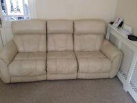 Recliner sofa £30