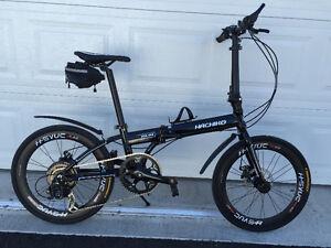 New Model Hachiko Folding Bike (Ha-04)