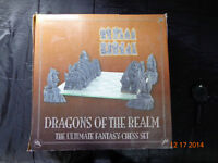 Chess set -  dragons of the realm