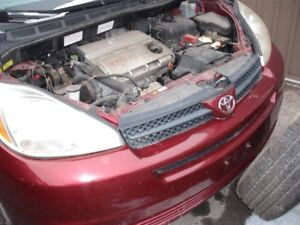 2005 Toyota Sienna Individual Parts For Sale