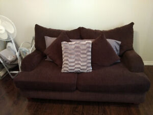 EUC Brown Couch