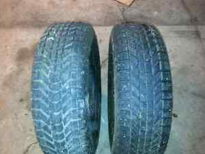 2 Winterforce 215/70r15 hivers