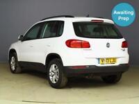 2013 VOLKSWAGEN TIGUAN 2.0 TDi BlueMotion Tech S 5dr [2WD] SUV 5 Seats