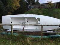Fireball plywood racing dinghy