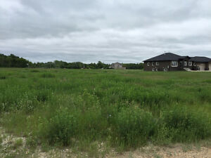 Nearly 3ac building lot between Lorette and Winnipeg - rare find