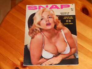 3 ADULT MAGAZINES  /  3 REVUES ADULTE  1957 - 1969