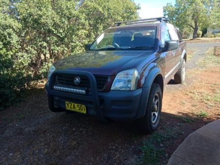 2003 rodeo ra dual cab 3.5 v6 petrol Dunedoo Warrumbungle Area Preview