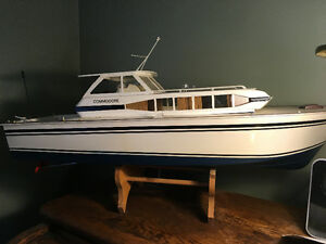 Collectable Commodore Motor Boat!