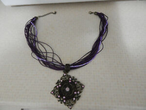 Beautiful purple necklace