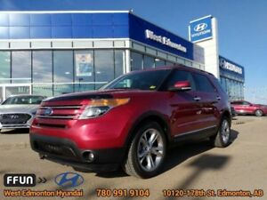 2015 Ford Explorer LIMITED  Limited-Power Fold Seats- Navigation