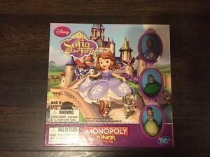 Monopoly Junior Disney Sofia