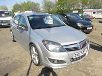 2007 Vauxhall/Opel Astra 1.8i 16v SRi LONG MOT, A/C, EXTERIOR PACK