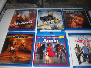ASSORTED CURRENT  BLU RAY DISC'S