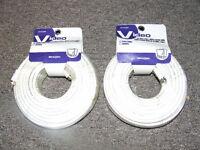 2 New Rolls Of RG59 Coaxial Cable (75 ft Each) - $10.00 EACH