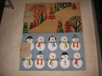 Brand New Indoor/Outdoor Christmas CoCo Mats Still With Tags
