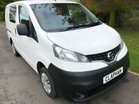2015 65 NISSAN NV200 ACENTA CREW 1.5 DCI 90 BHP FSH 1 OWNER ANY UK DELIVERY