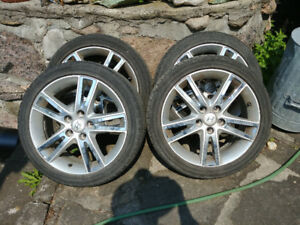 4 Aluminum Rims for Hyundai Elantra Touring