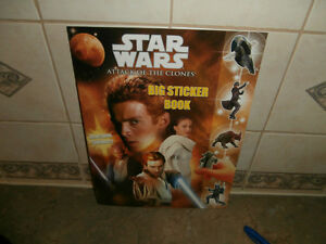 STAR WARS ATTACK OF CLONES STICKER BOOK