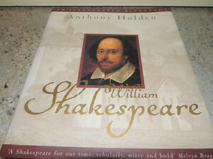 "Hardcover ""William Shakespeare"" Anthony Holden"